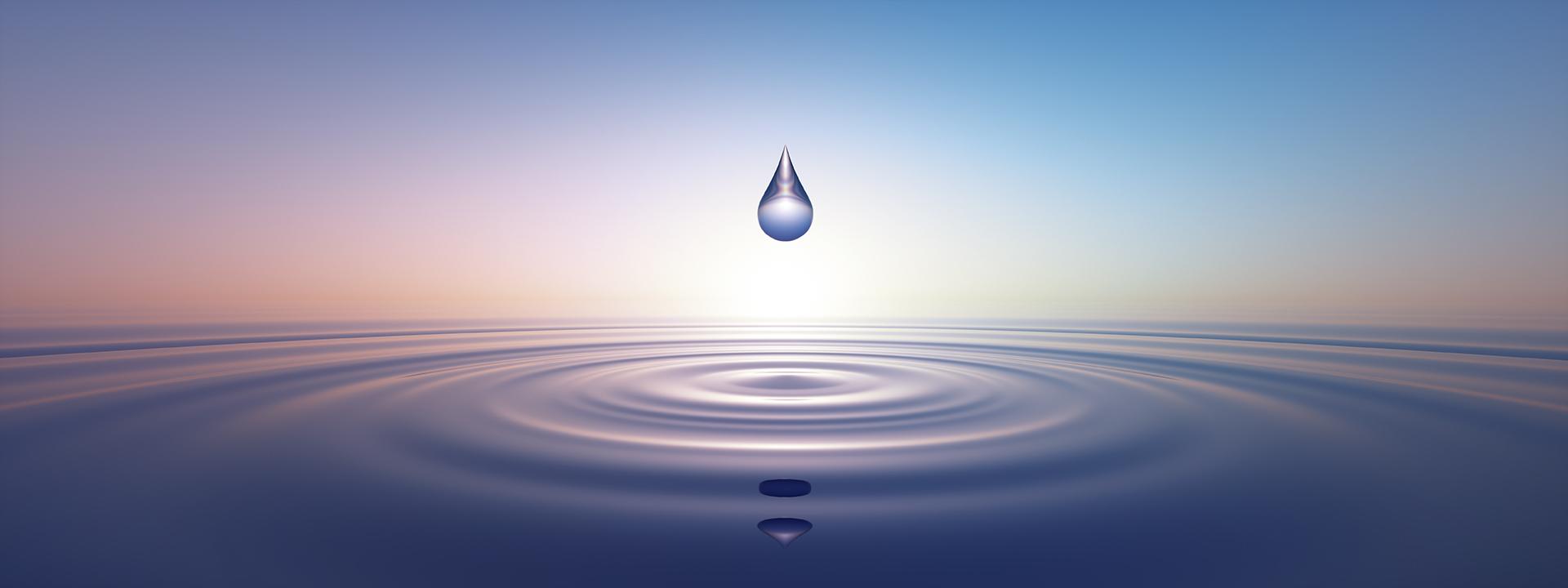 Seelenansicht Wassertropfen Lebensmagie